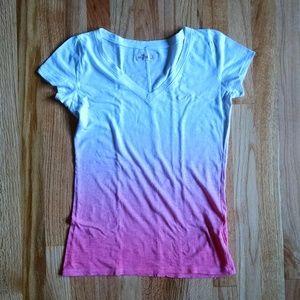 Hollister v-neck shirt size S